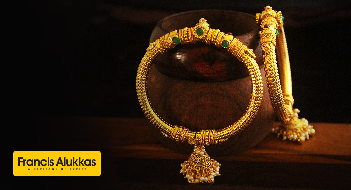 Kerala Traditional Gold Bangles
