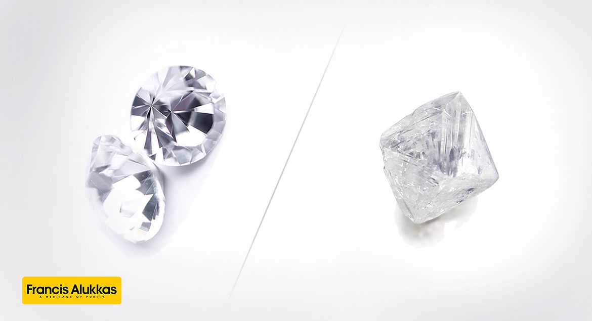 Cut Diamond vs Uncut Diamond